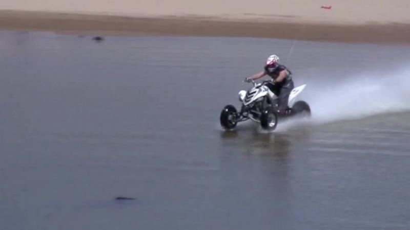 Hydroplaning Quad