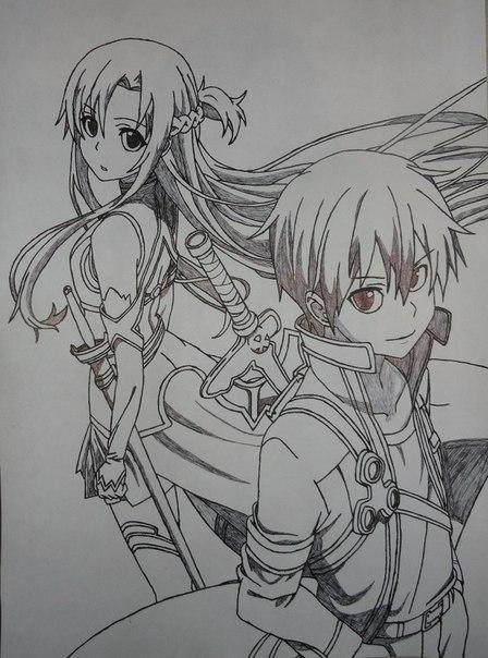 Sword Art Online (SAO) AMV - Kirito x Asuna