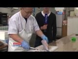 Самая ядовитая в мире рыба Фугу , японский деликатес !