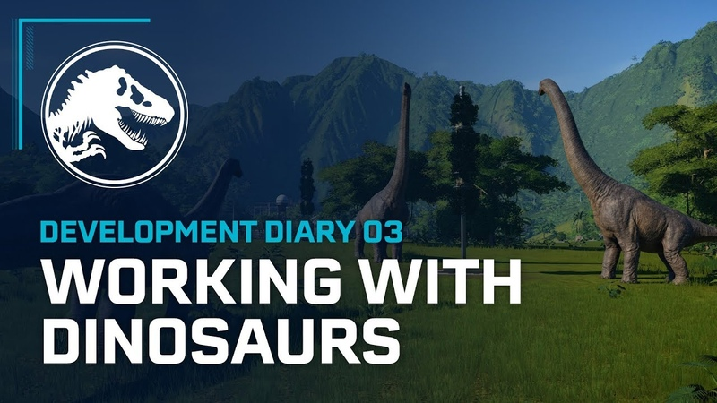 Dev Diary Working with Dinosaurs