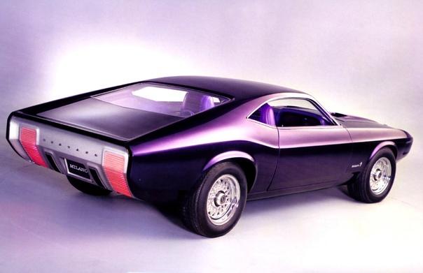 Вехи истории : 1970 Ford Mustang Milano Концепт, созданный в бюро Ford Advanced Styling studios, появился в преддверии выхода серийного Мустанга 1971 года. В феврале 1970 года этот автомобиль