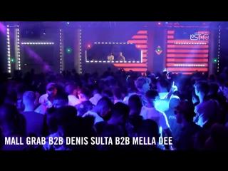 Mall Grab b2b Denis Sulta b2b Mella Dee @ AMP Lost Found Festival 2018