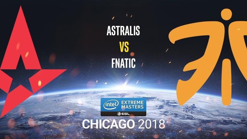 Astralis vs fnatic - IEM Chicago 2018 - map2 - de_mirage [ceh9 CrystalMay]