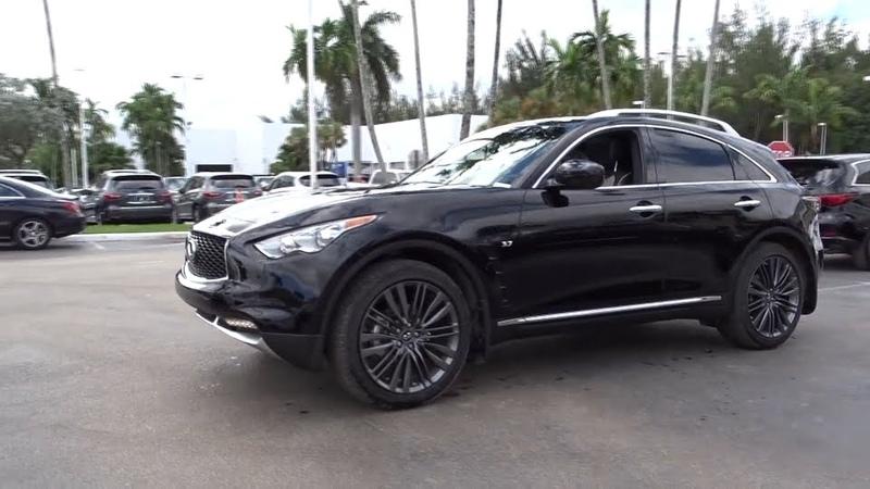 2017 Infiniti QX70 Miami, Aventura, Fort Lauderdale, Broward, Miami Beach, FL MHM140641