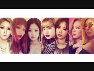 CL • HyunA • Jennie • Lisa • Yezi • Hyoyeon • Jessi [RapMashUp]