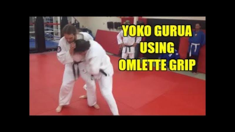 YOKO GURUMA USING OMLETTE GRIP