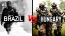 BRAZIL |VS| HUNGARY | SPECIAL FORCES 2018 | THE ELITE