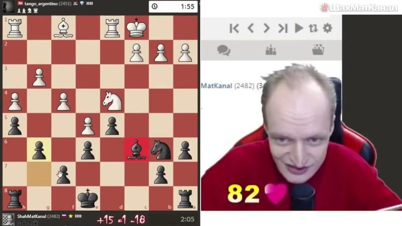 В комнате Алина и Антон сыграли в шахматы на равздевание.