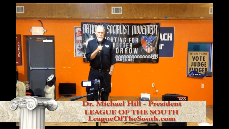 2018 Nationalist Front meet - Dr. Michael Hill - LOS