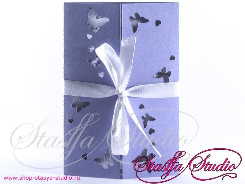 Приглашение Butterflies №1
