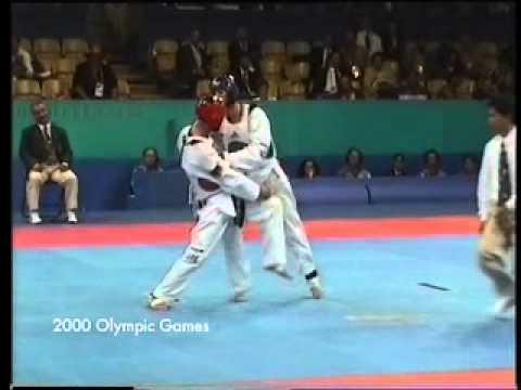 Летние Олимпийские игры 2000. Тхэквондо. Мужчины (до 68 кг). Стивен Лопес (США) - Азиз Ачарки (Германия)