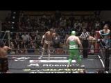 Danshoku Dino, Makoto Oishi, Super Sasadango Machine vs. KUDO, Masahiro Takanashi, Gorgeous Matsuno (DDT - King of DDT 2018 3rd
