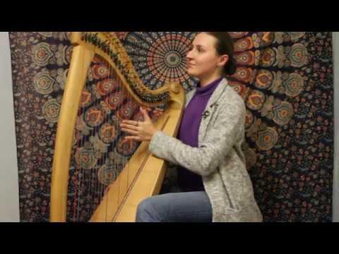 Entalie - Deus Meus (Celtic harp)