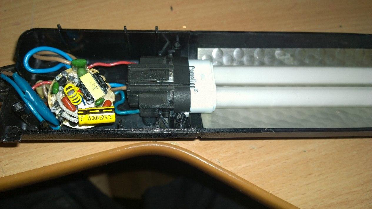 схема энергосберегающей лампы comtech kt-2a