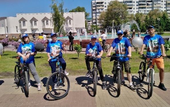 В Белгороде прошёл костюмированный велопарад