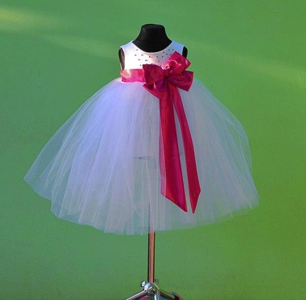 Как сшить самой детское платье из фатина 59