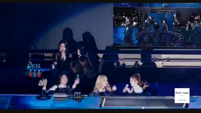 [VK][15.01.2019] Red Velvet, MOMOLAND Reaction to MONSTA X's Performance @ 28th Seoul Music Awards