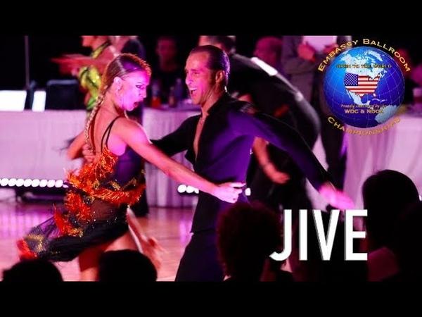 Riccardo Cocchi - Yulia Zagoruychenko, USA   Embassy Ball 2018 - Jive
