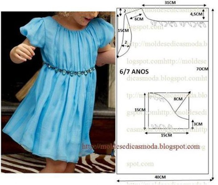 платья для девочек 6 7 лет