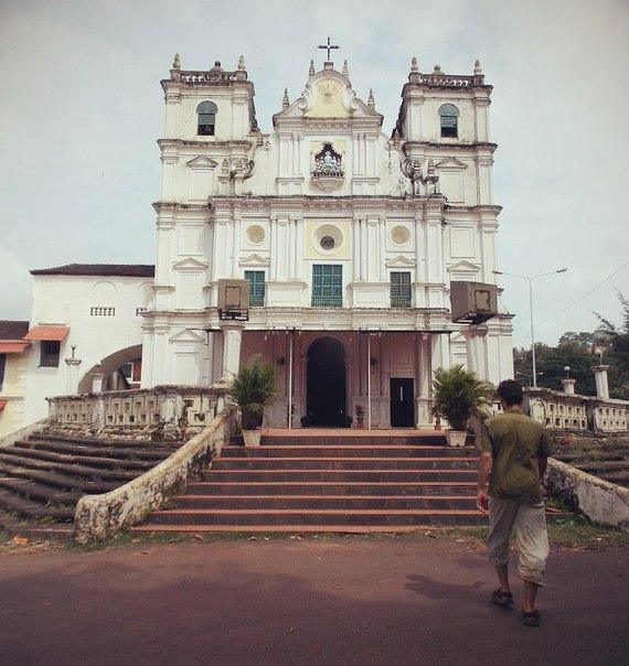 Храм святого духа в Маргао