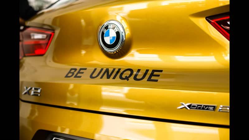 Новый BMW X2.