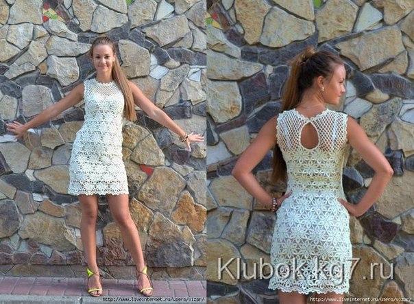 Платье на лето (5 фото) - картинка