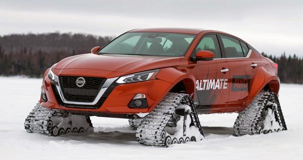 Канаде построили гусеничный седан Nissan Altimate AWD