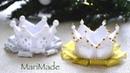 Корона Канзаши из Ленты МК на Новый Год День Рождения Kanzashi Crown
