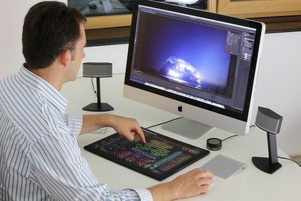 Штука: Спец. клавиатура с 319 кнопками для работы в Photoshop