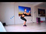 Fitness Mix, КАЧАЕМ ПОПКУ  И НОЖКИ!
