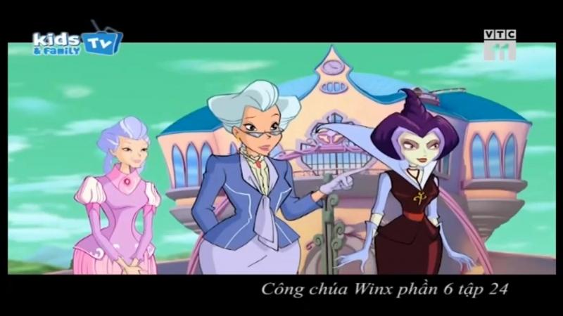 [Kids Family TV] Winx Công chúa phép thuật - Phần 6 Tập 24 - Trận chiến huyền thoại