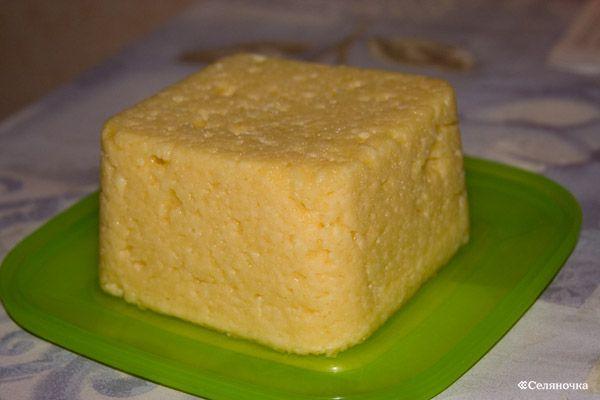 Приготовить сыр из творога в домашних условиях