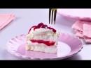 Торт-безе Павлова с вишнями | Больше рецептов в группе Кулинарные Рецепты