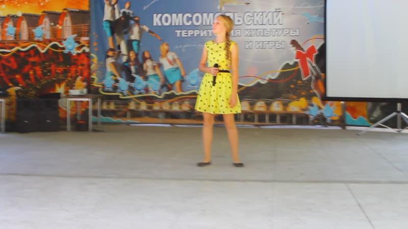 Жанна поёт:)