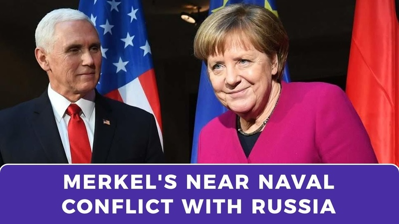 Mike Pence wanted Angela Merkel to provoke naval conflict with Russia
