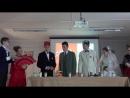 Конкурсная программа - Воробьевка - театральная постановка пьесы Чехова - французский язык - 1 место