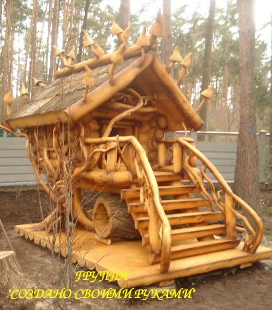 Деревянное строительство своими руками