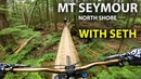 EPIC North Shore Features with Seths Bike Hacks - Mt Seymour | Jordan Boostmaster