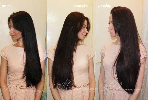 о росте волос)))))))))