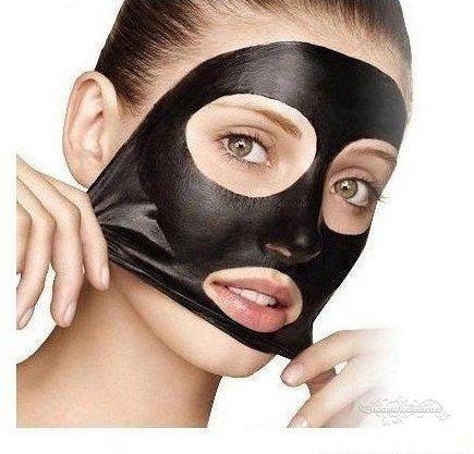 маска с желатином и углем для лица от черных точек отзывы