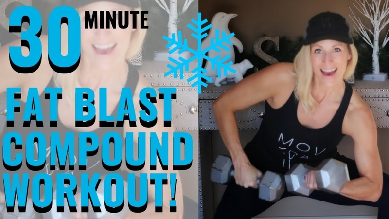 30 MINUTE COMPOUND WORKOUT | Fat Blasting Workout🔥😍🔥