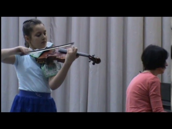 А Вьетан Тарантелла Исполняет учащаяся ДШИ г Уссурийска Ангелина Лобко