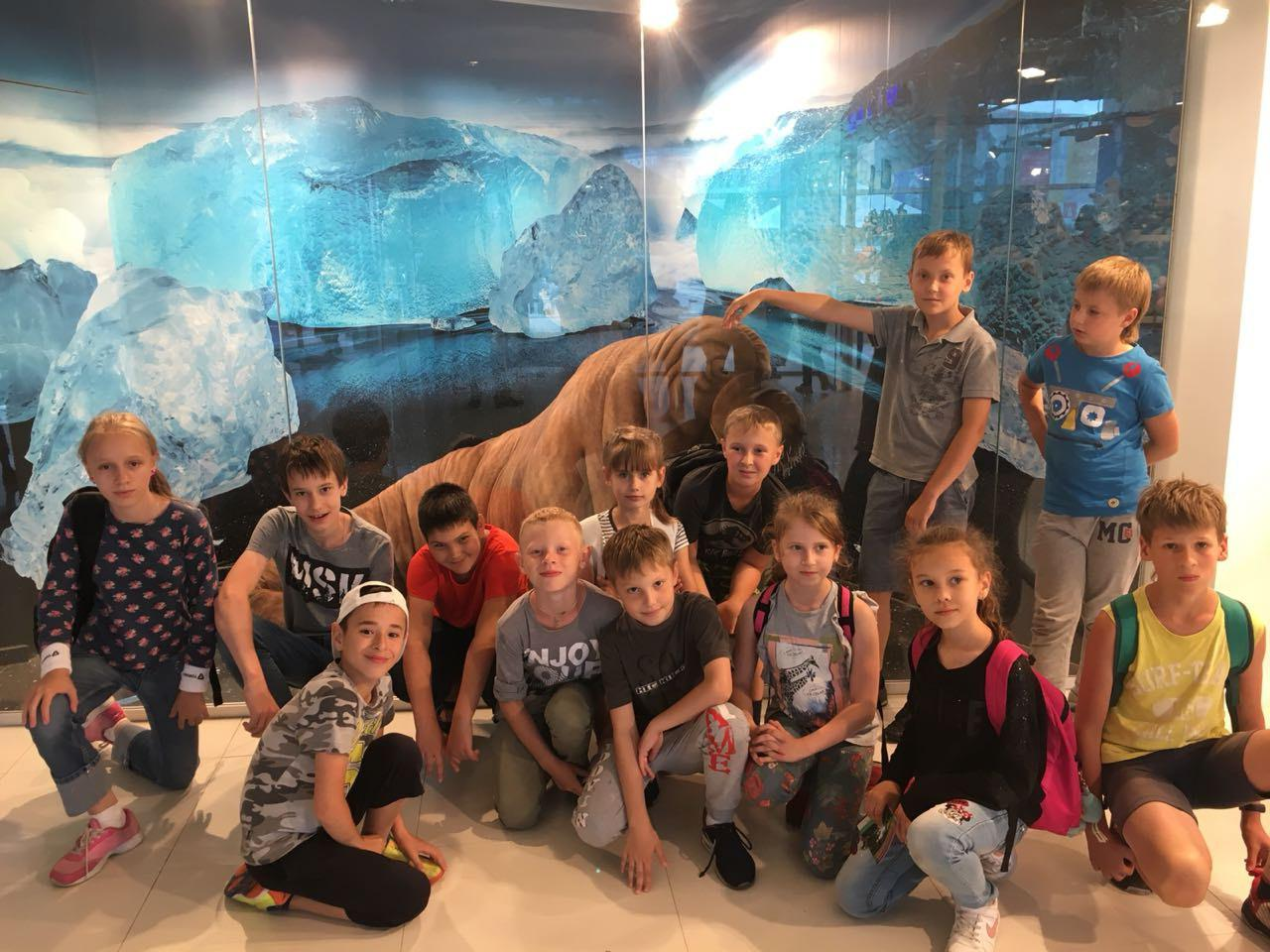 Юные жители Бибирева побывали на экскурсии в Москвариуме