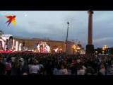 Видео с праздника Алые паруса 2018 в Санкт-Петербурге Концерт на Дворцовой площади