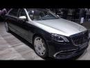 2019 Mercedes Maybach S560 Exterior And Interior Walkaround