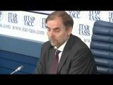 Пресс конференция Анатолия Голомолзина на тему «Развитие конкуренции на воздушном транспорте в РФ»