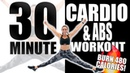 30 Minute Cardio and Abs Workout with Sydney Cummings🔥Burn 480 Calories! 🔥