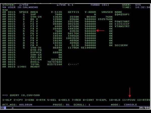 Install and operate IBM's DOS/VS mainframe OS - M91