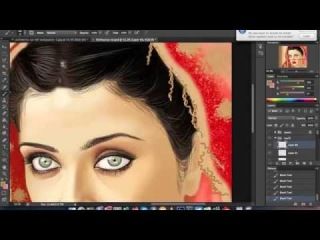Digital Painting - Aishwarya Rai