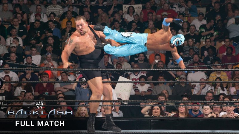 FULL MATCH - Rey Mysterio vs. Big Show: WWE Backlash 2003 (WWE Network Exclusive)